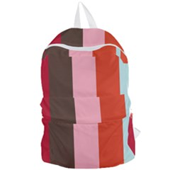 Stripey 19 Foldable Lightweight Backpack by anthromahe