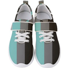 Stripey 20 Men s Velcro Strap Shoes by anthromahe