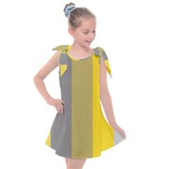 Stripey 21 Kids  Tie Up Tunic Dress by anthromahe