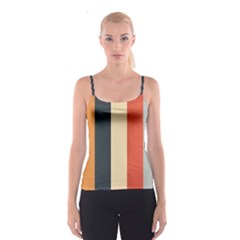 Stripey 22 Spaghetti Strap Top by anthromahe