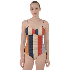 Stripey 22 Sweetheart Tankini Set by anthromahe
