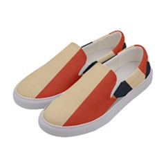 Stripey 22 Women s Canvas Slip Ons by anthromahe