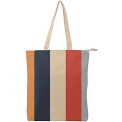 Stripey 22 Double Zip Up Tote Bag by anthromahe
