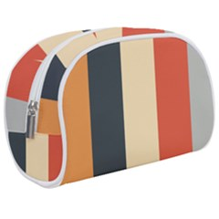 Stripey 22 Makeup Case (medium) by anthromahe