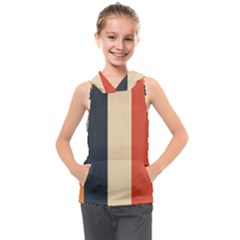 Stripey 22 Kids  Sleeveless Hoodie by anthromahe