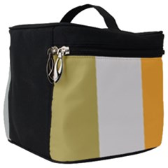 Stripey 23 Make Up Travel Bag (big) by anthromahe