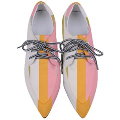 Stripey 23 Women s Pointed Oxford Shoes by anthromahe