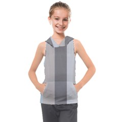 Stripey 24 Kids  Sleeveless Hoodie by anthromahe