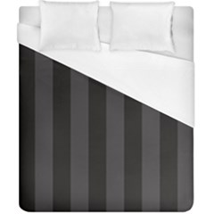 Black Stripes Duvet Cover (california King Size)