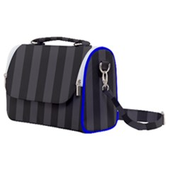 Black Stripes Satchel Shoulder Bag