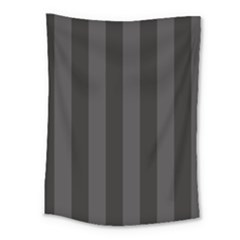 Black Stripes Medium Tapestry