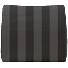 Black Stripes Seat Cushion