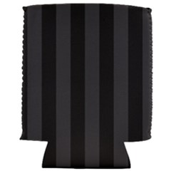 Black Stripes Can Holder