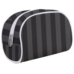 Black Stripes Makeup Case (medium)