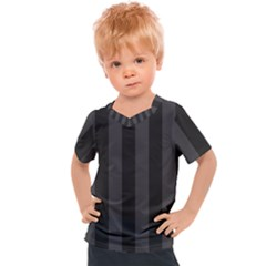 Black Stripes Kids  Sports Tee