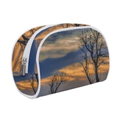 Sunset Scene At Waterfront Boardwalk, Montevideo Uruguay Makeup Case (small) by dflcprints