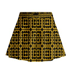 Df Unrest Vibe Mini Flare Skirt by deformigo