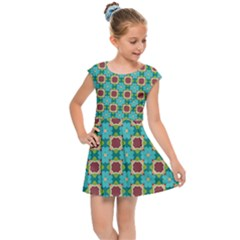 Df Stephania Melins Kids  Cap Sleeve Dress by deformigo