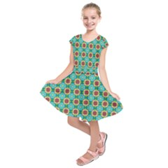 Df Stephania Melins Kids  Short Sleeve Dress by deformigo