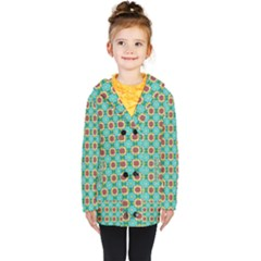 Df Stephania Melins Kids  Double Breasted Button Coat by deformigo