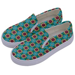 Df Stephania Melins Kids  Canvas Slip Ons by deformigo