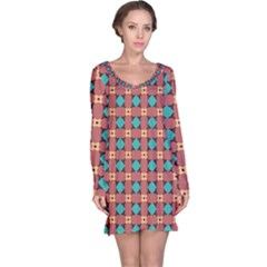 Df Minemood Original Long Sleeve Nightdress by deformigo
