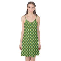 Df Green Domino Camis Nightgown by deformigo