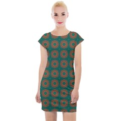 Df Alexis Finley Cap Sleeve Bodycon Dress by deformigo