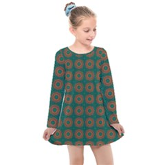 Df Alexis Finley Kids  Long Sleeve Dress by deformigo