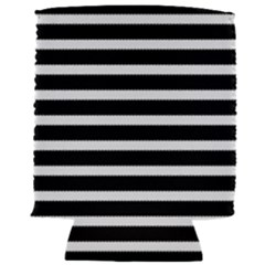 Black & White Stripes Can Holder by anthromahe
