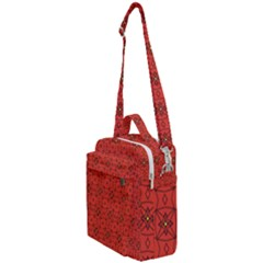 Tiling Zip A Dee Doo Dah+designs+red+color+by+code+listing+1 8 [converted] Crossbody Day Bag by deformigo