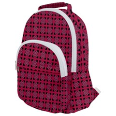 Df Ricky Purplish Rounded Multi Pocket Backpack by deformigo