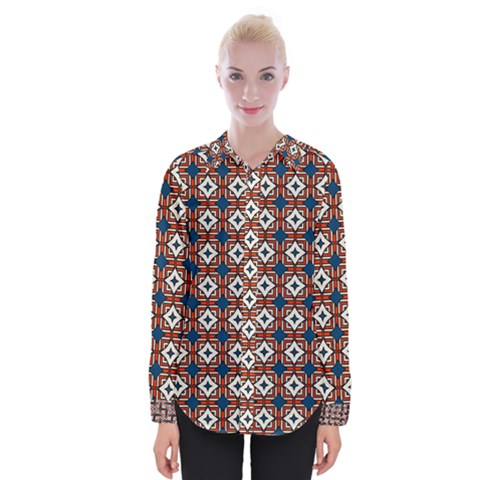 Df West Branch Womens Long Sleeve Shirt by deformigo