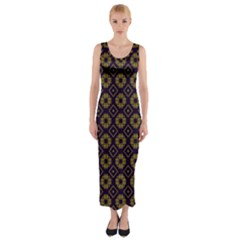 Df Festus Regence Fitted Maxi Dress by deformigo