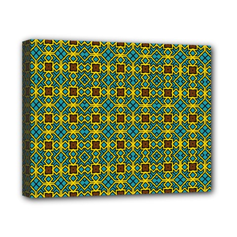 Df Dakota Rivers Canvas 10  X 8  (stretched) by deformigo