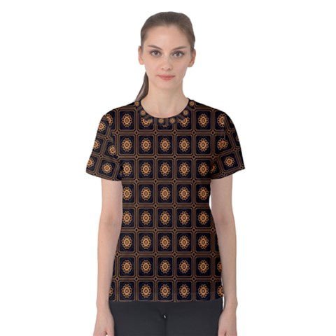 Df Freesia Vicegrand Women s Cotton Tee by deformigo