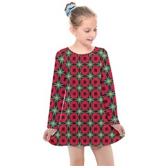 Df Jamie Greer Kids  Long Sleeve Dress by deformigo