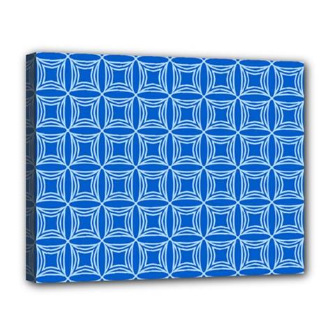 Df Blue Woollister Canvas 14  X 11  (stretched) by deformigo