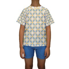 Df Romeo Lisetti Kids  Short Sleeve Swimwear by deformigo