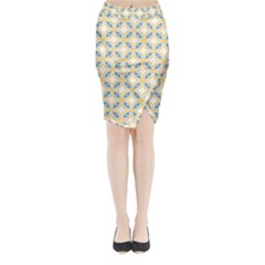 Df Romeo Lisetti Midi Wrap Pencil Skirt by deformigo