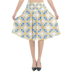 Df Romeo Lisetti Flared Midi Skirt by deformigo