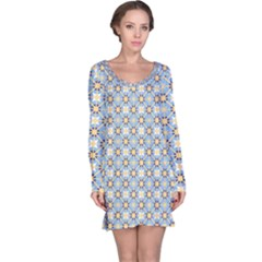 Df Norbert Pastel Long Sleeve Nightdress by deformigo
