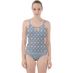 Df Norbert Pastel Cut Out Top Tankini Set by deformigo