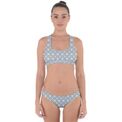 Df Norbert Pastel Cross Back Hipster Bikini Set by deformigo