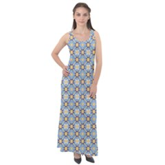 Df Norbert Pastel Sleeveless Velour Maxi Dress by deformigo