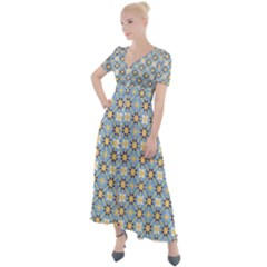 Df Norbert Pastel Button Up Short Sleeve Maxi Dress by deformigo