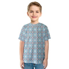 Df Tech Sky Kids  Sport Mesh Tee