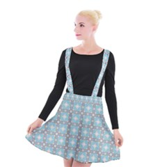 Df Tech Sky Suspender Skater Skirt by deformigo