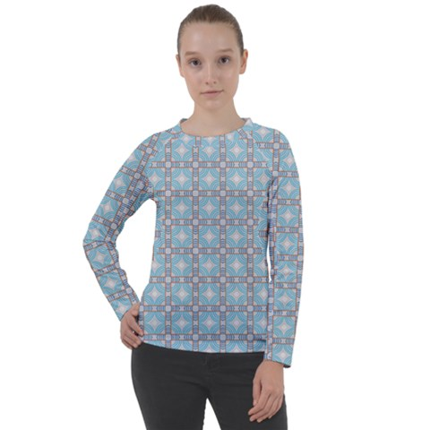 Df Tech Sky Women s Long Sleeve Raglan Tee by deformigo