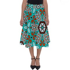 Df Kyo Shun Perfect Length Midi Skirt by deformigo